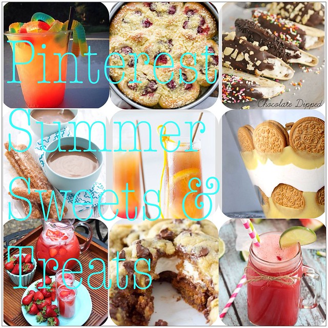 Pinterest Summer Sweets & Treats