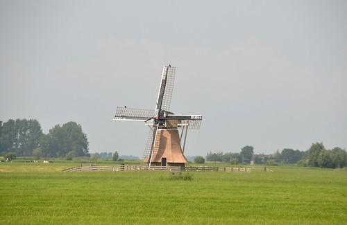 Friesland juli 2014 (110) Rinsumageest (Rinsumageast), Klaarkampstermeermolen