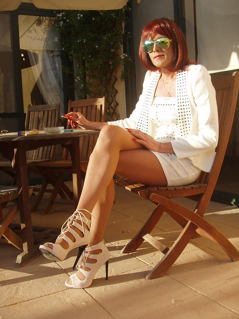Wolford Hosiery, All in white