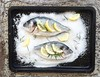 Dorada a la sal con limón y romero -  Salt Baked sea bream with Lemon, rosemary