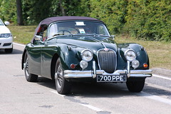 daimler 250(0.0), jaguar xk120(0.0), sports car(0.0), automobile(1.0), jaguar xk140(1.0), vehicle(1.0), automotive design(1.0), jaguar mark 1(1.0), jaguar xk150(1.0), antique car(1.0), sedan(1.0), classic car(1.0), vintage car(1.0), land vehicle(1.0), luxury vehicle(1.0), convertible(1.0),