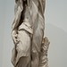 Statue of Winter as an Old Man Holding Holly or possibly Saturn by unknown French artist 1770-1790 CE Stone (1)