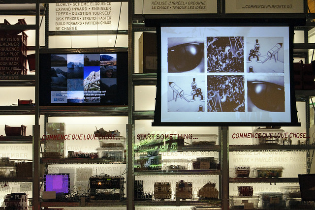 Media Wall, Ontario Science Centre