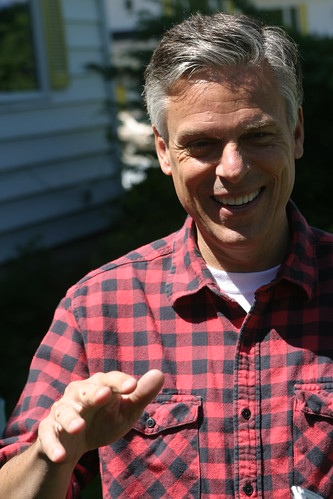 Jon Huntsman in the North Country