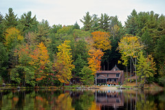 Autumn of New Hampshire