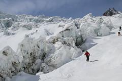 Vallee Blanche Glacier du Geant