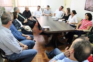 Reuniao ocorreu na Prefeitura Municipal de Tapejara. POR VICTORIA HOLZBACH