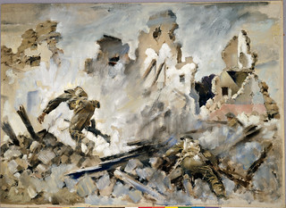 Peter McIntyre, Into Cassino, May 1944