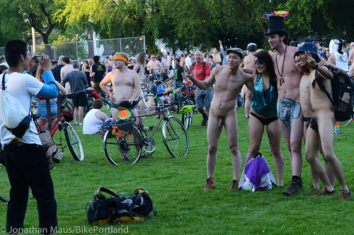 2014 World Naked Bike Ride -10