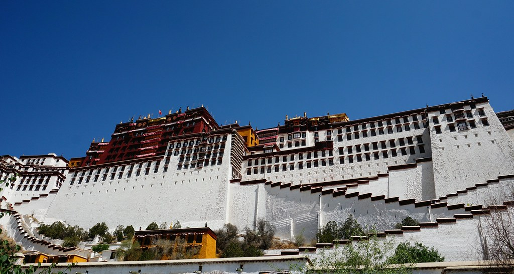 Potala Palace from below