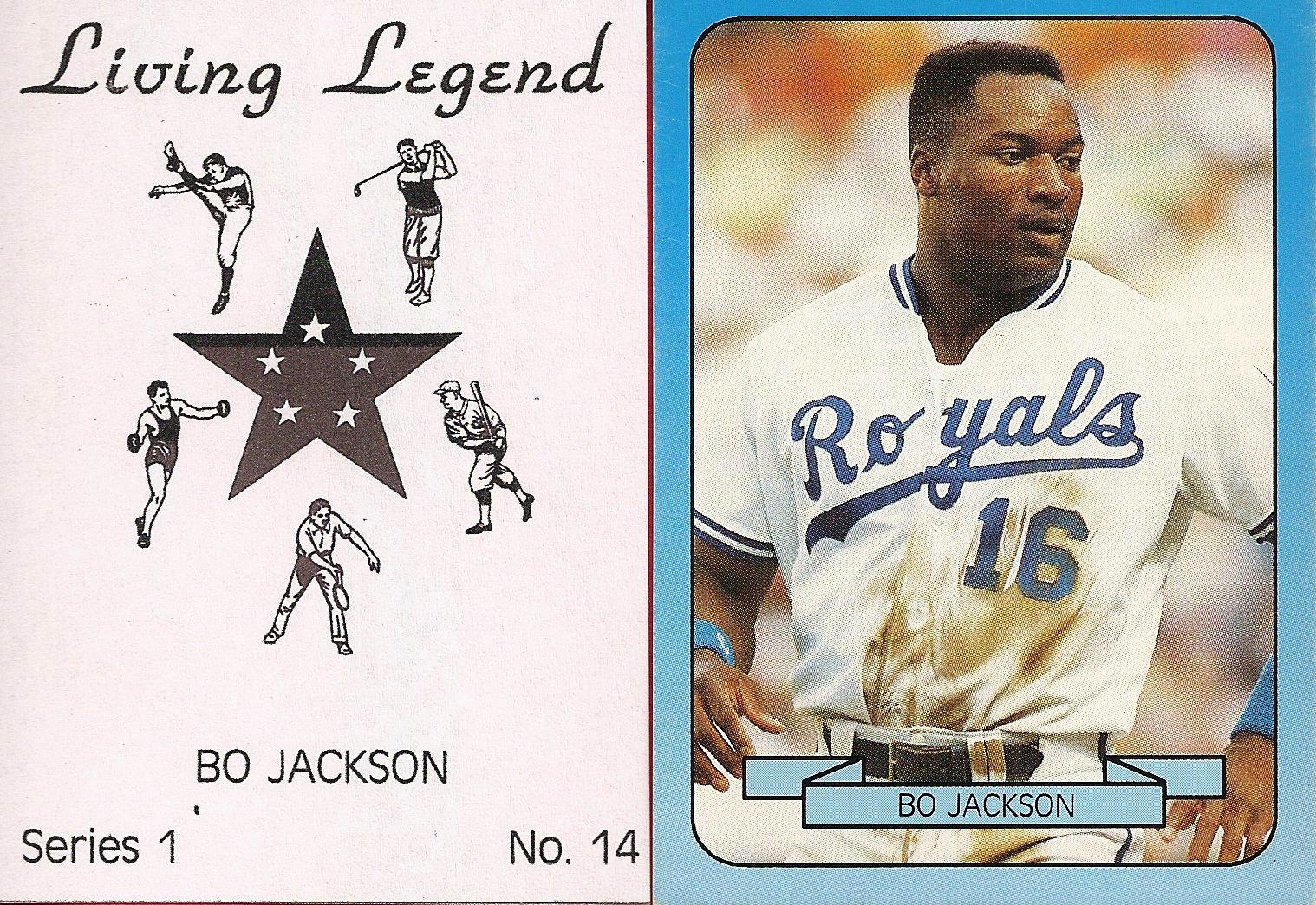 1990 Living Legend Blue Series 1