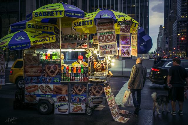 NY's Very Street Food Vendor