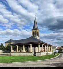 HALLES-SOUS-LES-CÔTES | Le lavoir et l'église Saint-Barthélemy - Photo of Mont-devant-Sassey
