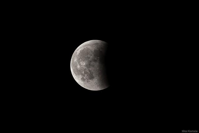 Moon eclipse (15 June 2011)
