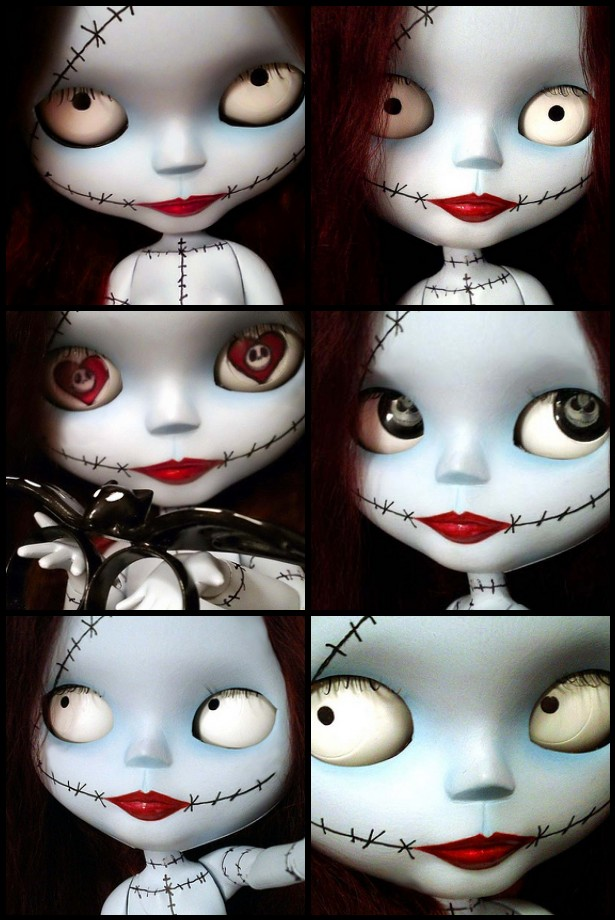 Many faces of Sally