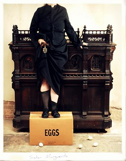 Bench Monday: Nun on Eggs Edition