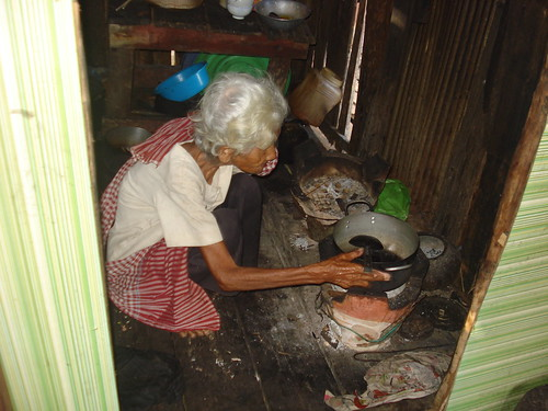 10  Poor families including this 77 year-old also receives special support from Morodok