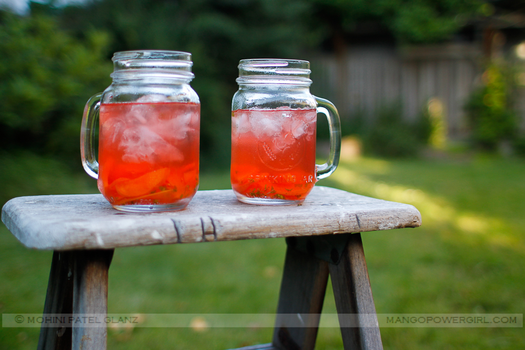 Raspberry & Peach Sangria