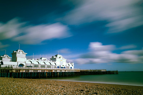 South Parade Pier // long exposure // welding glass