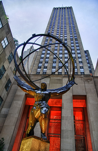 Rockerfeller Center - Atlas (HDR)