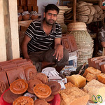 Raw Sugar Vendors at the Rajshahi Market - Bangladesh