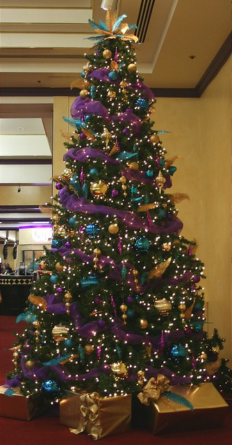 Purple Gold16ft Decorated Christmastree Flickr Photo