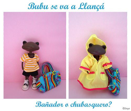 Bubu se va a Llança de vacaciones by tatadelacasa
