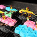 Peeps vs. LEGO : Back Country Fire Brigade