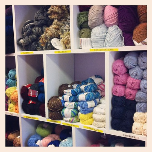 Yarn crawl is here! Store 1: nonna's yarn cafe