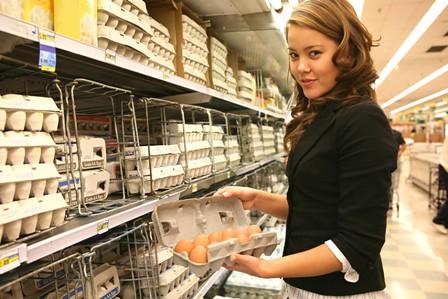 purchasing eggs shopping for eggs