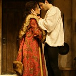 Seth Fisher and Mimi Lieber, in the Huntington Theatre Company's <i>Perseponie</i>. Photo: T. Charles Erickson.