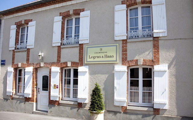 Front of the House of Legras & Haas