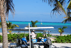 Ambergris Caye in Belize