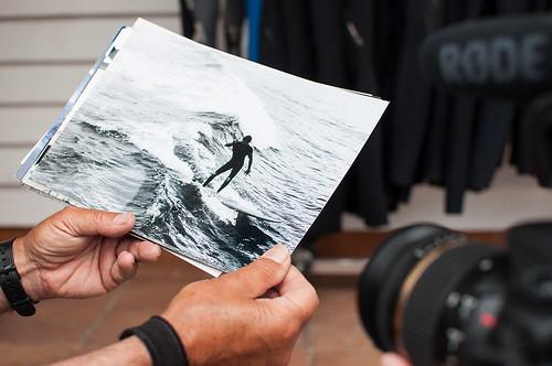 La leyenda viva del surf en Ribamontán al Mar