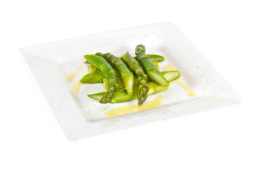truffled asparagus