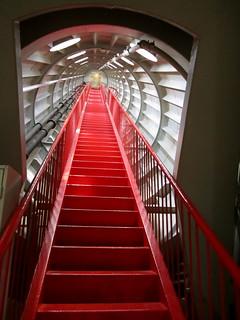 Atomium, stairway