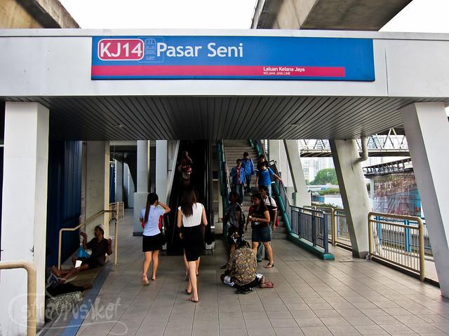 Pasar Seni Station