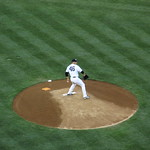 Andy Pettitte Pitches Eight Innings of Shutout vs. Cincinnati Reds