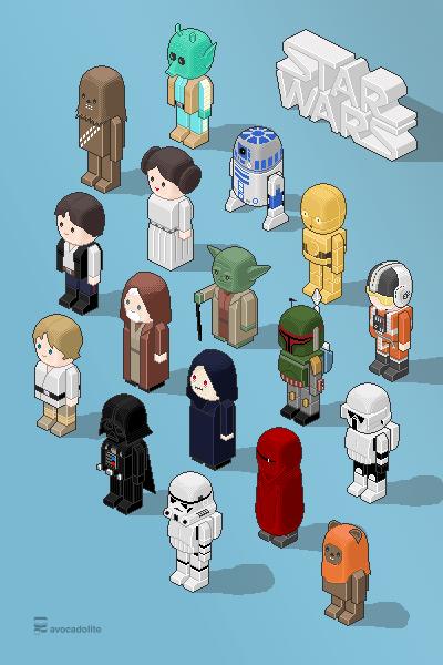 Star Wars poster for @SWDBDG