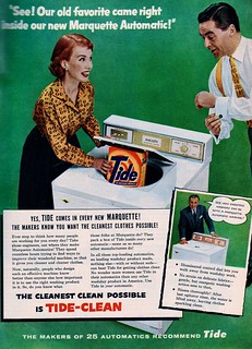 Marquette Automatic Washer & Tide ad