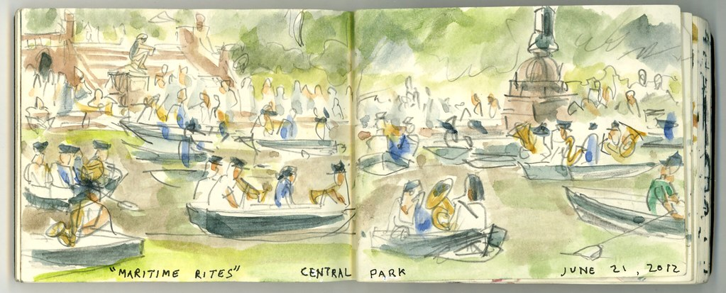 Maritime Rites, Central Park
