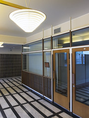 Aalto National Pensions Building Entry Doors to Meeting Room