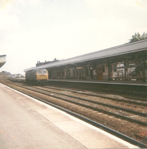 Class 47 at Leamington