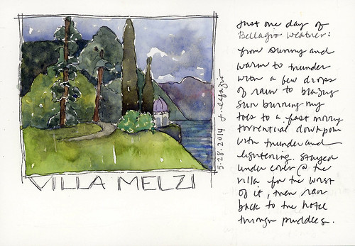from my sketchbook in Italy