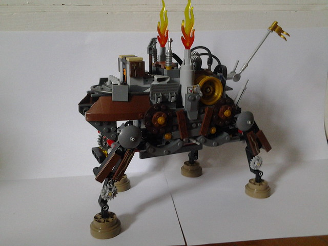 Motorized Steampunk Walker