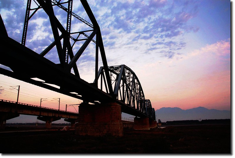 高屏舊鐵橋夕照 34