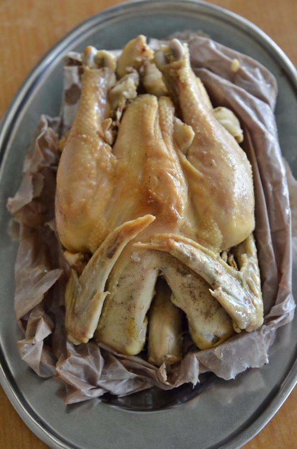 Steamed Salted Chicken
