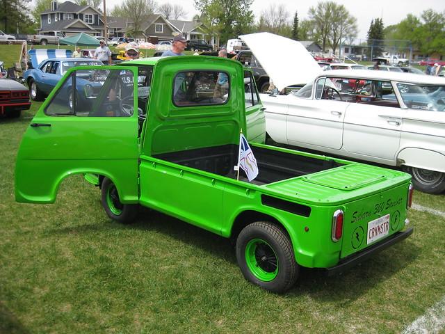 1969 Subaru 360 pickup rear