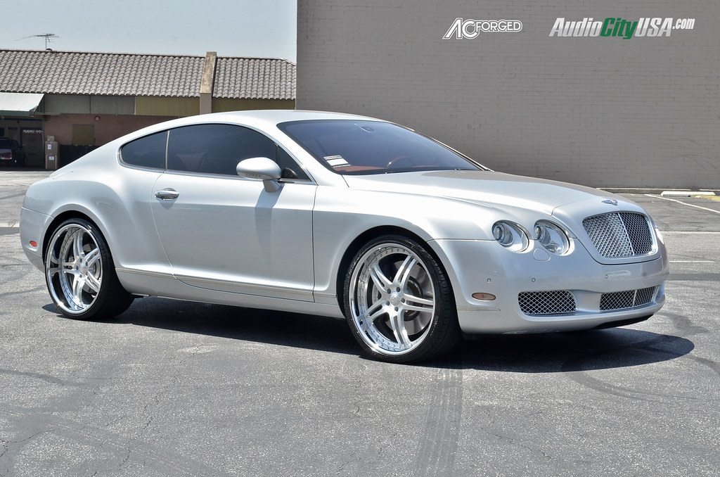 22 ac forged split 5 brush on 2006 bentley continental gt sciox Images