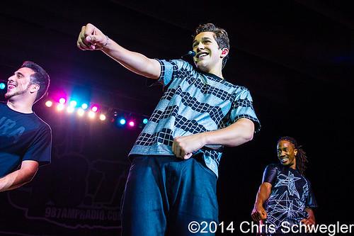 Austin Mahone – 06-12-14 – 98.7 AMP Live 2014, Meadow Brook Music Festival, Rochester Hills, MI